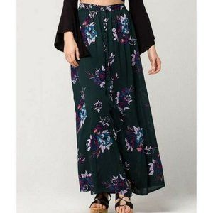 Patrons Of Peace High Waist Wrap Floral Maxi